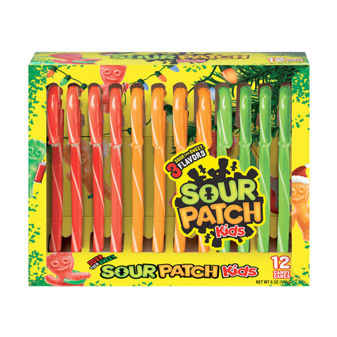 Sour Patch Candy Canes 5.3oz (150g)