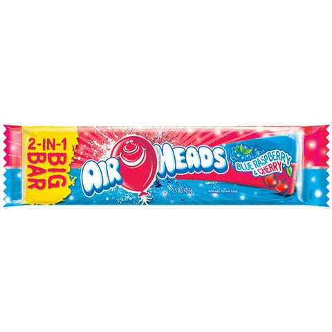 Airheads BIG BAR Blue Raspberry and Cherry