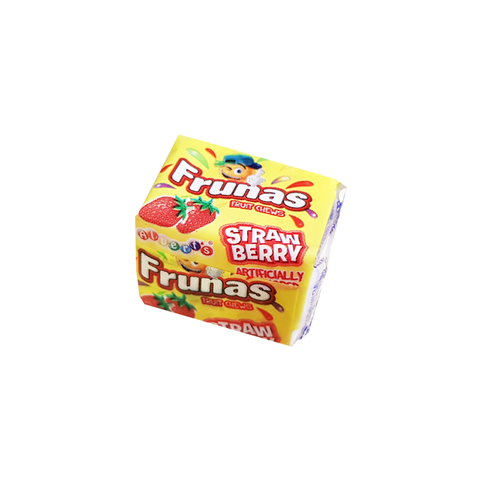 Albert's Frunas Fruit Chews Strawberry 4pc - 0.35oz (10g)