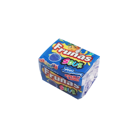 Alberts Frunas Sour Blue Raspberry - 0.35 oz (18g)