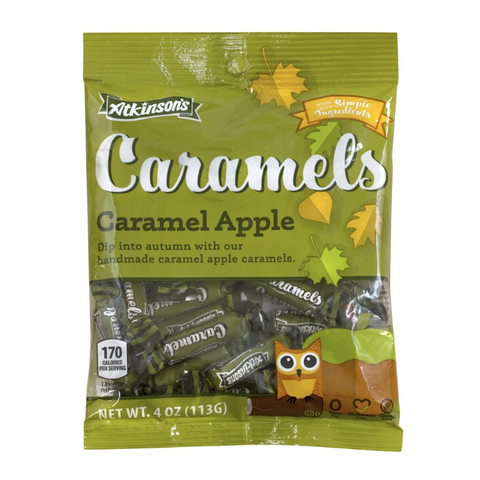 Atkinson Halloween Caramel Apple Peg Bag - 4oz (113g)