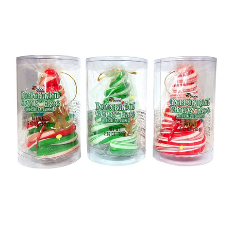 Peppermint Candy Tree Ornament - 2.82oz (80g)