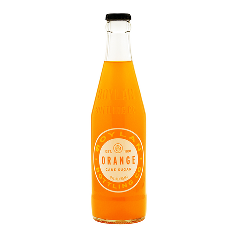 Boylan Orange Soda - 12fl.oz (355ml)