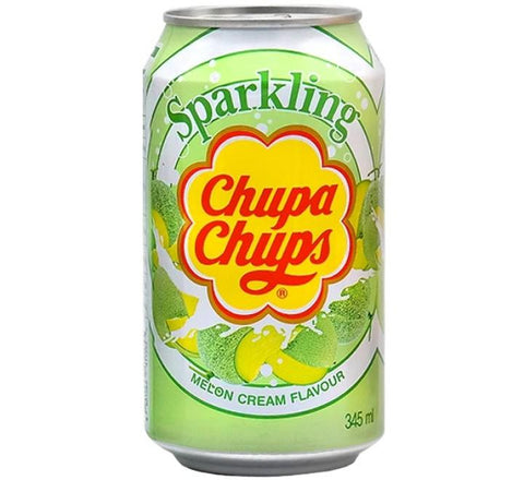 CHUPA CHUPS SPARKLING MELON & CREAM 345ML
