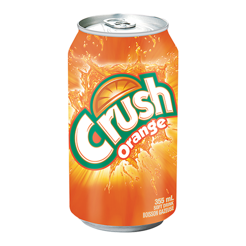 Crush Orange - 12fl.oz 355ml (Canadian) ** BB 08/02/21 **