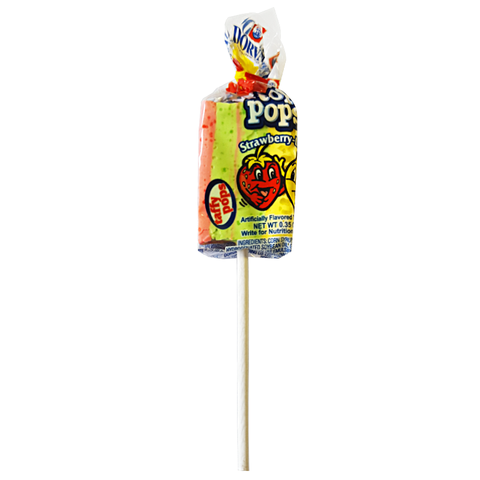 Dorval Top Pop Chewy Taffy Lollipops