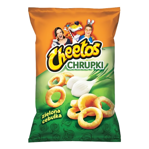 Frito Lay Cheetos Green Onion - 145g
