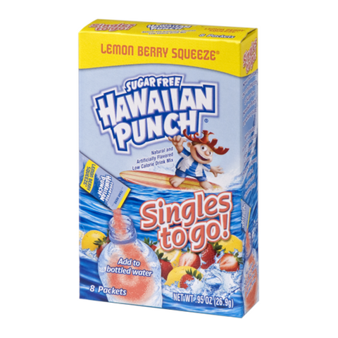 Hawaiian Punch - Singles to Go! Lemon Berry Squeeze 8-Pack