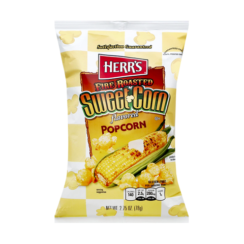 Herr's Fire Roasted Sweet Corn Popcorn - 2.25oz (64g)