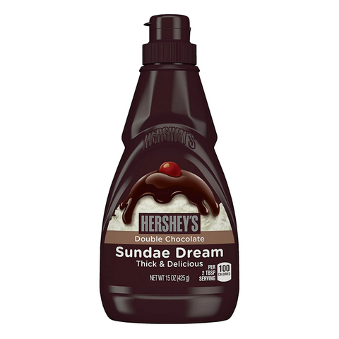 Hershey's Sundae Dream Double Chocolate Syrup - 15oz (425g)