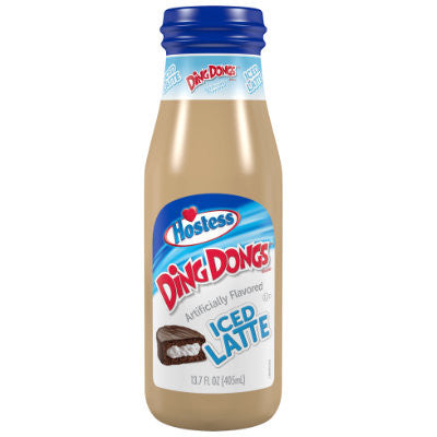 HOSTESS DING DONGS ICED LATTE 13.7oz