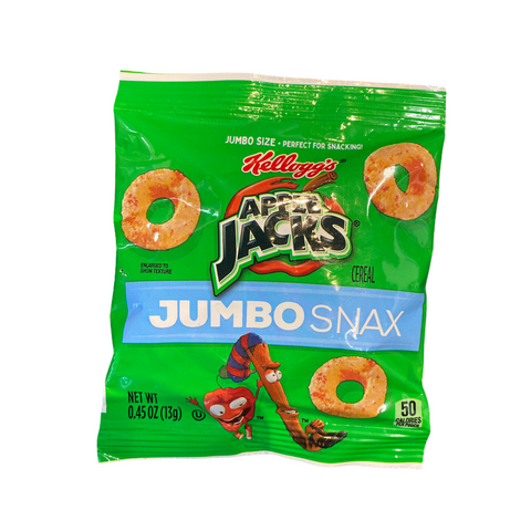 Kellogg's Apple Jacks Jumbo Snax,153g