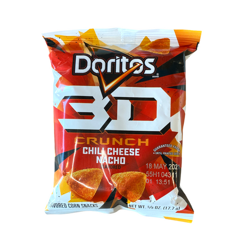 Doritos 3D Crunch Chili Cheese Nacho Flavored Corn Snacks 17.7g