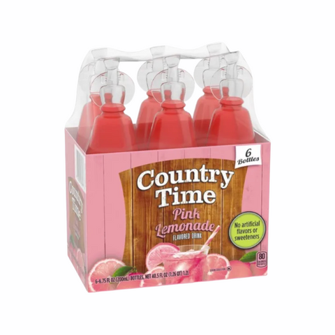 Country Time Strawberry Lemonade 6-Pack