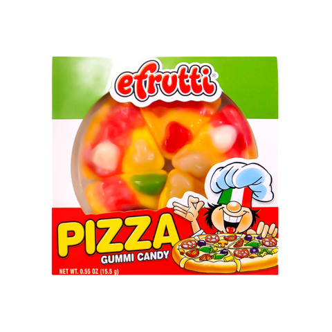 E.Frutti Gummi Candy Pizza 0.55oz (15.5g)