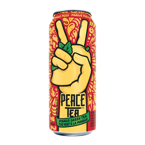 Peace Tea Mango Mood Green Tea (695ml)