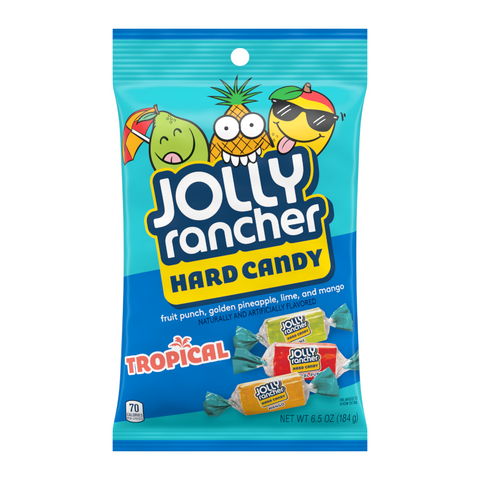 Jolly Rancher Tropical Hard Candy - 6.5oz (184g)