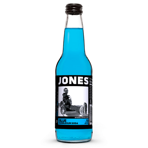 Jones Soda - Blue Bubblegum - 12fl.oz (355ml)