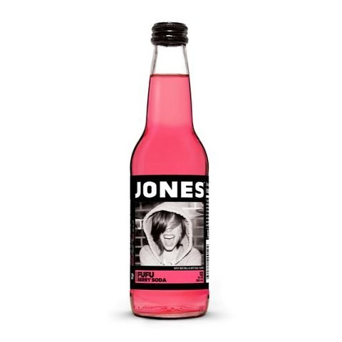 Jones Soda - Fufu Berry - 12fl.oz (355ml)