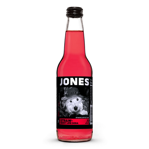 Jones Soda - Strawberry Lime - 12fl.oz (355ml)