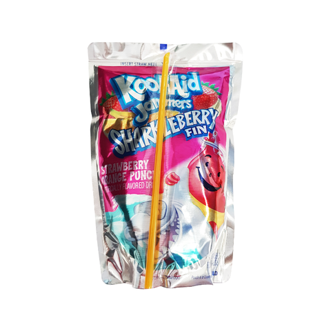 Kool Aid Jammers Sharkleberry - 6oz (177ml)