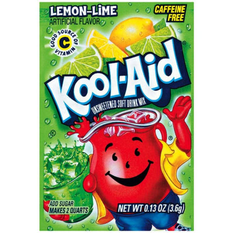 Kool Aid Lemon Lime - 0.13oz (3.6g)