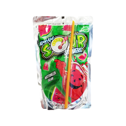 Kool Aid Jammers SOUR Watermelon - 6oz (177ml)