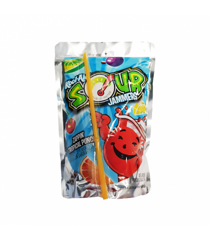 Kool Aid Jammers Sour Tropical Punch - 6oz (177ml)