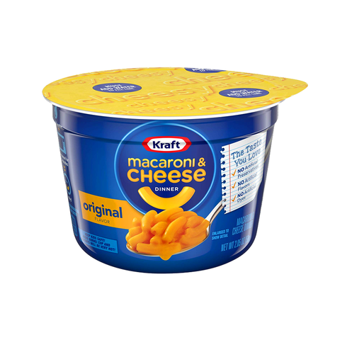 Kraft Easy Mac Cup Original - 2.05oz (58g) (DATED 26/12/20)