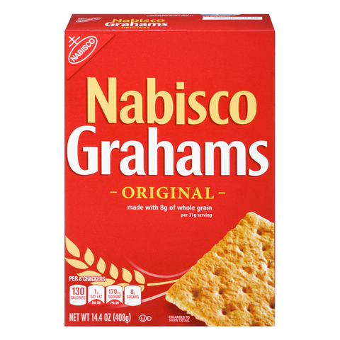 Nabisco Grahams Crackers 14.4oz (408g)