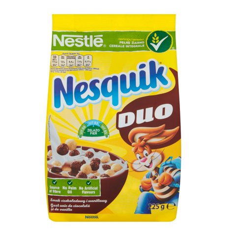 Nesquik Mix (Formerly Duo) Cereal - 225g (EU)
