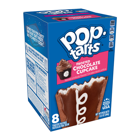 Pop Tarts Frosted Chocolate Cupcake 13.5oz (384g)