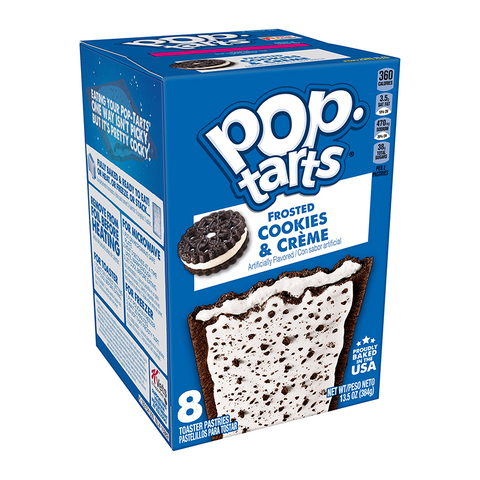 Pop Tarts - Frosted Cookies & Creme