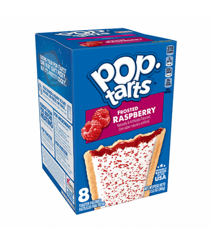 Pop Tarts Frosted Raspberry 8-Pack - 13.5oz (384g)