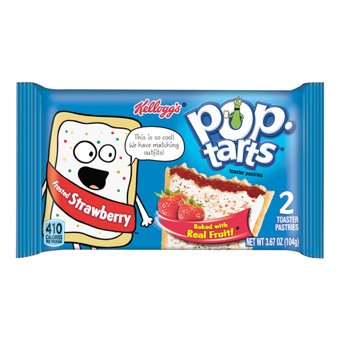 Pop Tarts - Frosted Strawberry - Twin Pack - 3.67oz (104g)