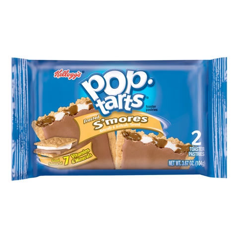 Pop Tarts - Frosted Smore -Twin pack 3.67oz (104g)