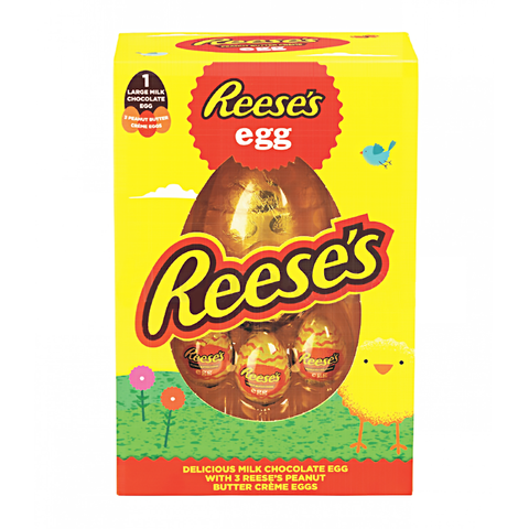 Reese's Milk Chocolate Egg /w 3 Reese's Creme Eggs (232g)