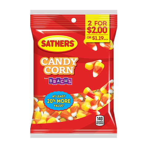 Sathers Candy Corn 3.25oz (92g)