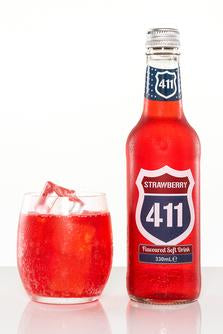 411 Strawberry - Bottle