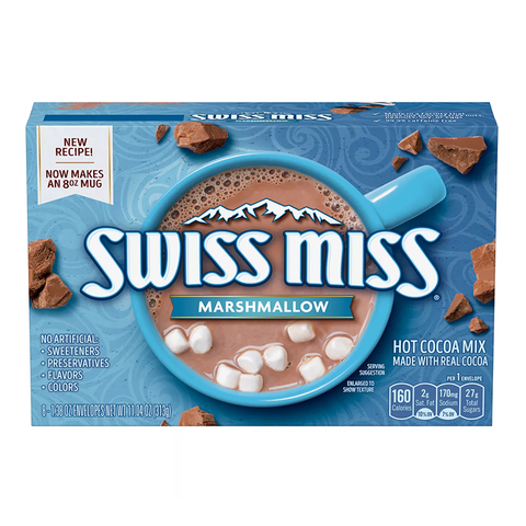 Swiss Miss Marshmallow Hot Cocoa Mix 10-Pack - 280g