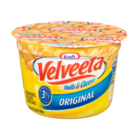 Velveeta Shells & Cheese Microwavable Cup 2.39oz (68g) (DATED 29/12/20)