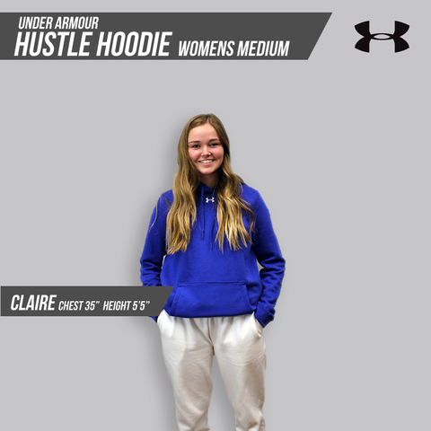 Hustle Hoodie Womens Medium