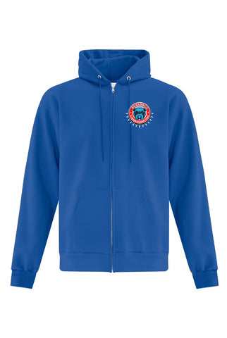 Cotton Fleece Full Zip Hoodie