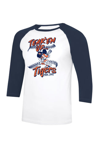 Tear Em' Up Tigers 3/4 Sleeve