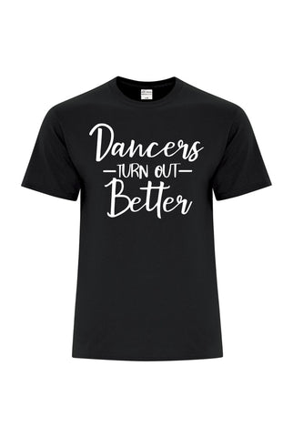 Dancers Turn Out Better Shortsleeve - Youth