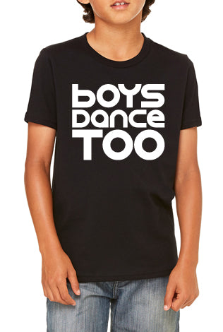Cotton Short Sleeve - Boys Dance Too - Youth