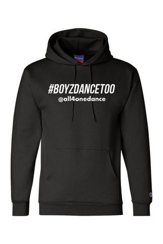 Fleece Hoodie - #BOYZDANCETOO