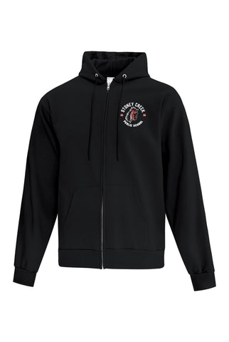 Fleece Full Zip Hoodie - Staff