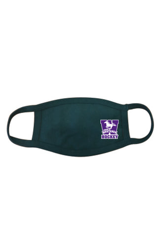 Jr Mustangs Double Layer Cotton Facemask