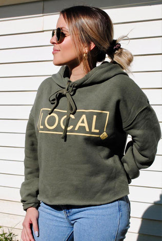 LOCAL Cropped Hoodie